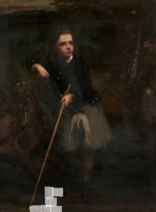 Major Dennistoun as a Boy
