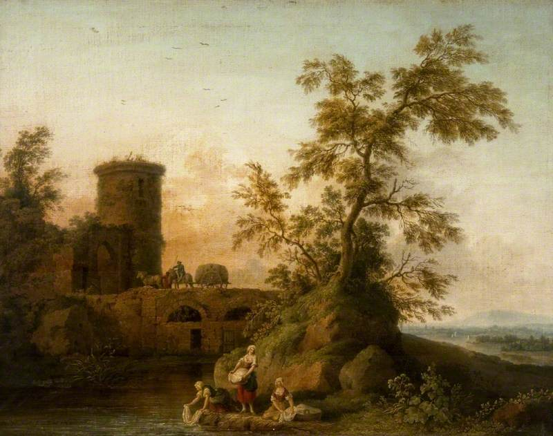 Landscape with Washerwomen