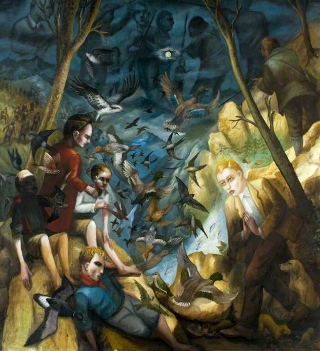 Painting in Defence of Migrants