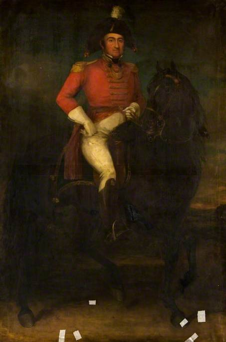 John Geddes, Equestrian Portrait