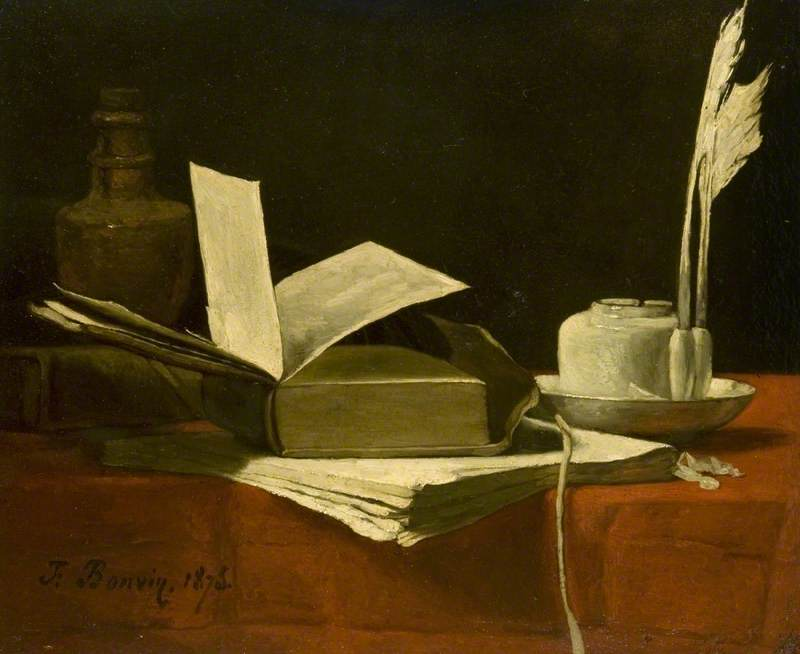 Still Life with a Book and an Ink Well