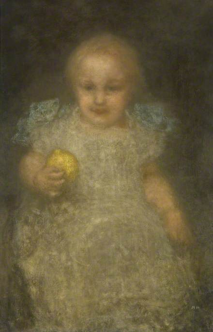 Child with a Lemon: Barye Swan