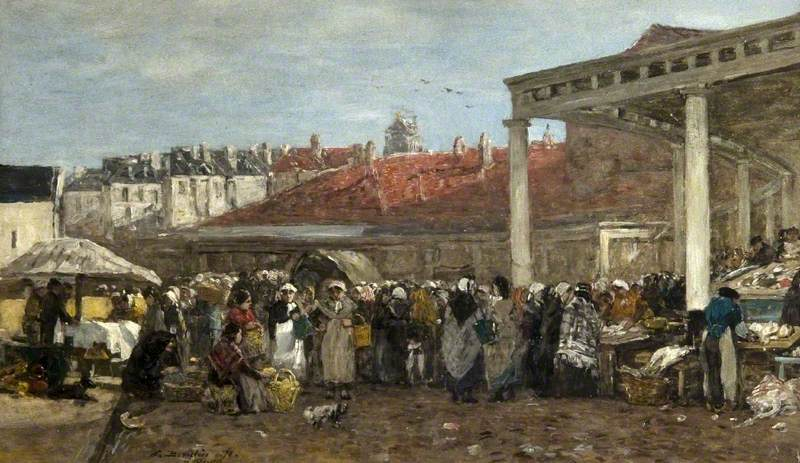 The Old Fish Market, Brussels