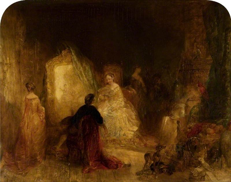 Watteau in His Studio