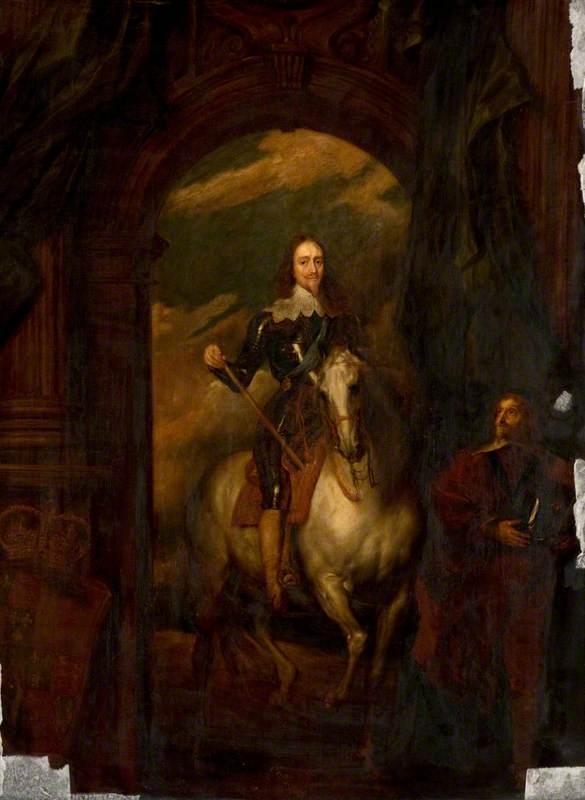 Charles I with M. de St Antoine