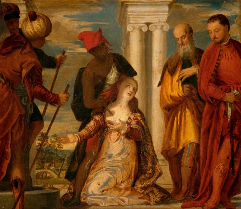 The Martyrdom of Saint Justina