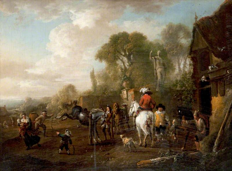 Departure from a Riding School