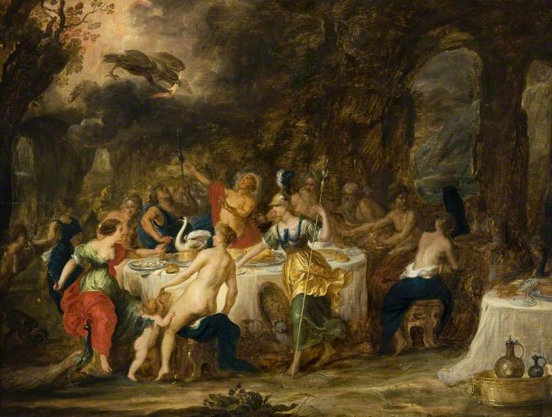 The Marriage Feast of Peleus and Thetis
