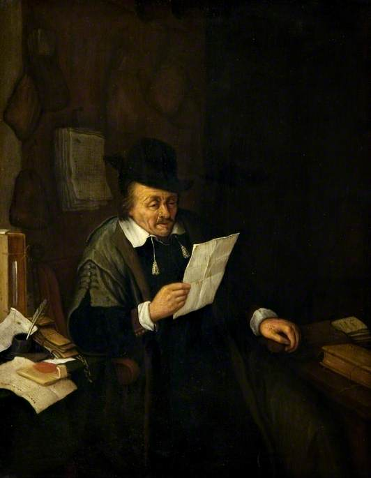 A Lawyer in His Study