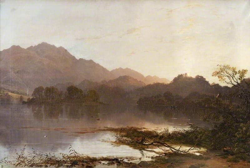 Loch Achray, Evening