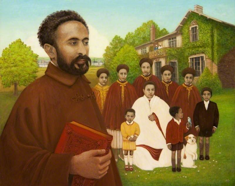 Haile Selassie (1892–1975), and His Family