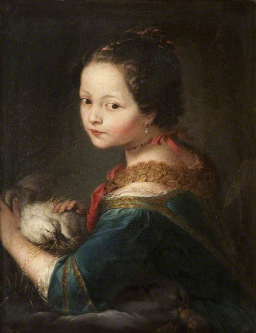 Girl with a Dove