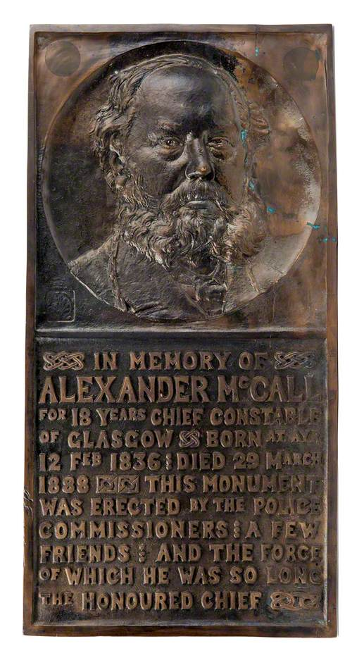 Alexander McCall (1830–1888), Police Chief*
