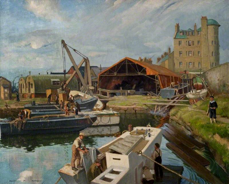 Maryhill Dock, Forth and Clyde Canal