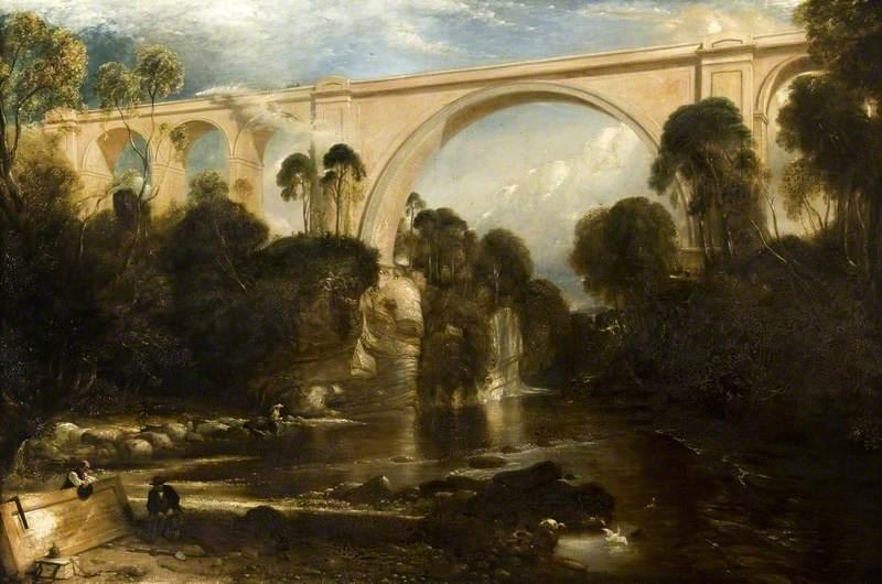 Ballochmyle Viaduct over the River Ayr