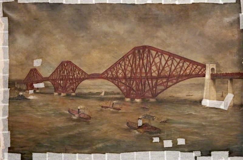 Forth Rail Bridge (Opening Ceremony)