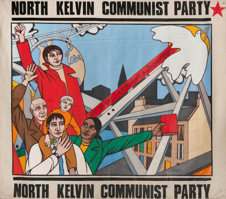 North Kelvin Communist Party Banner*