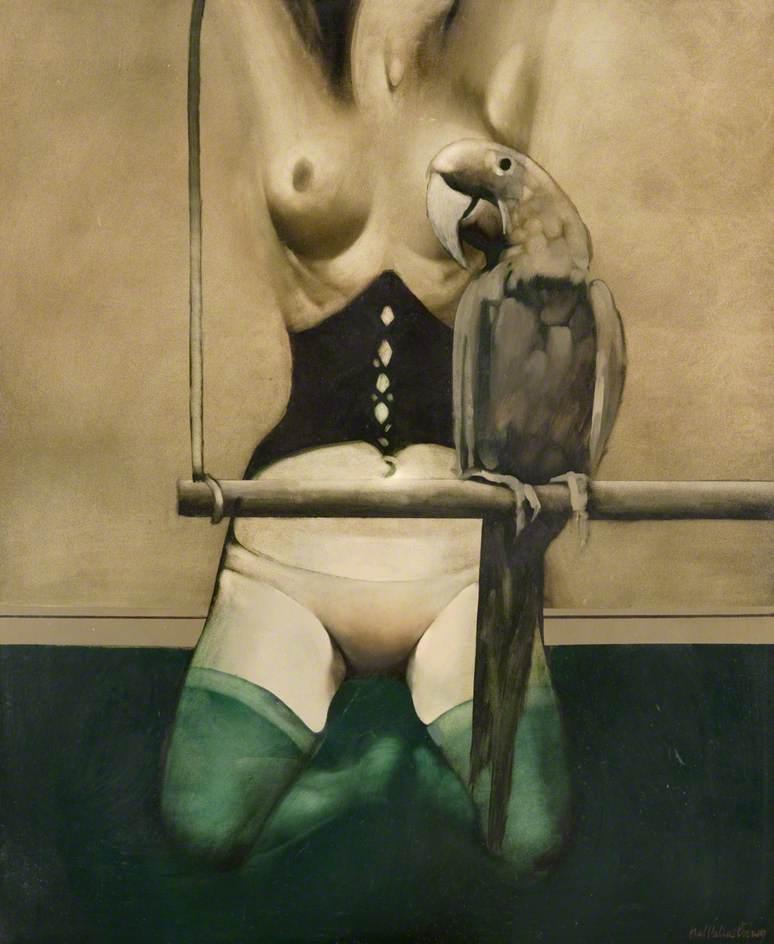 Satirical Painting