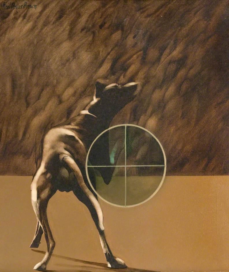 Dog and Target
