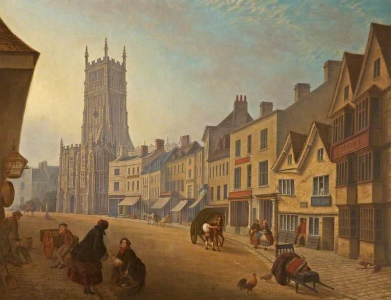 The 'Sun Inn' in Cirencester Market Place, Gloucestershire