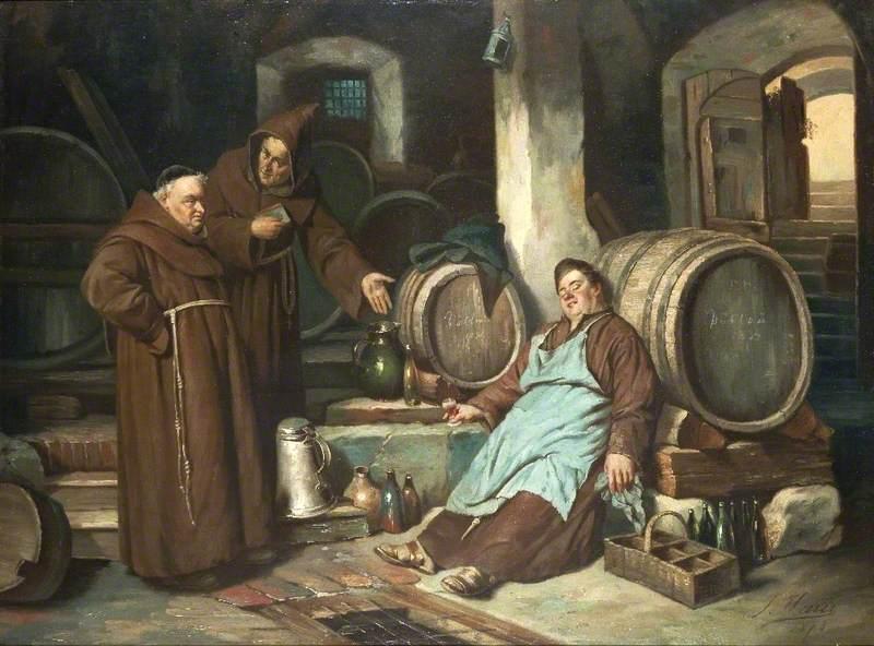 Monks in a Cellar