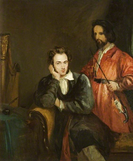 Gustav von Holst and His Brother, Theodore