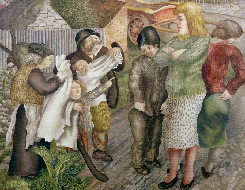 Village Life (or 'Village Gossips')