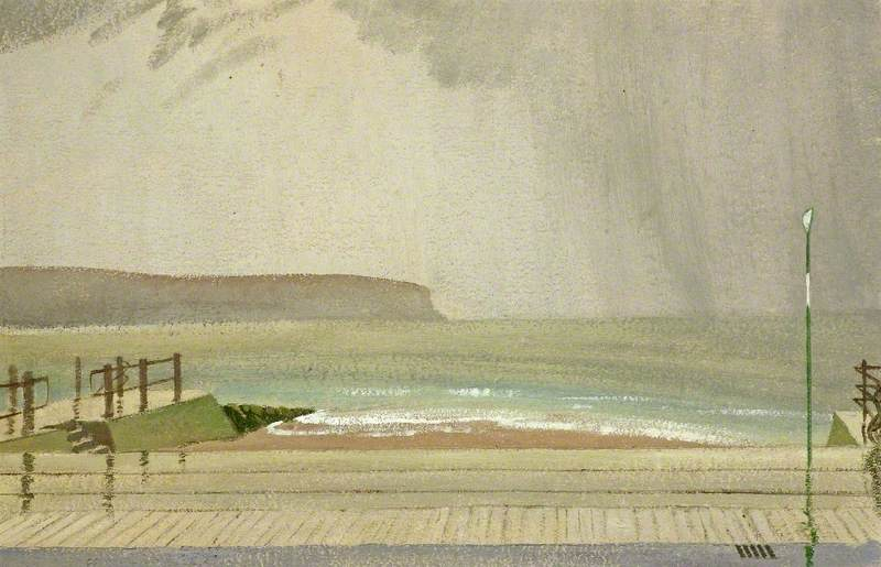 The Sea in January, Swanage, Dorset