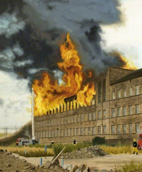 Bradford Warehouse Fire, West Yorkshire, 1987