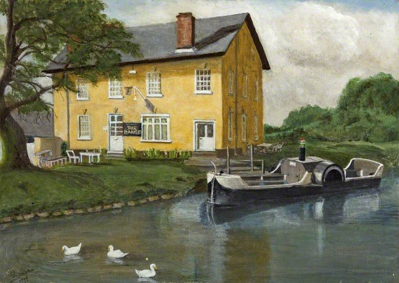 'Charlotte Dundas' at 'The Barge Inn'