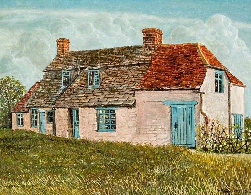 Miss Smith's Cottage at Widham, Wiltshire