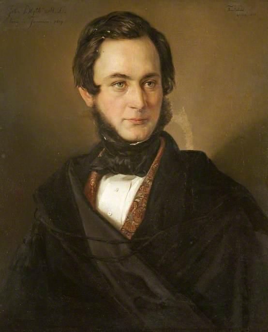 Professor John Buddle Blyth (b.1814), Professor of Chemistry (1847–1848)