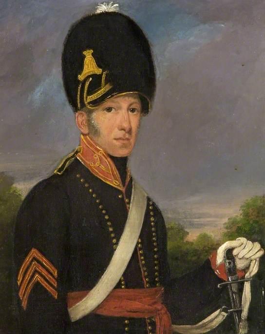 Sergeant George Butler, 21 August 1818, Malmesbury Troop, Royal Wiltshire Yeomanry (Aged 28)