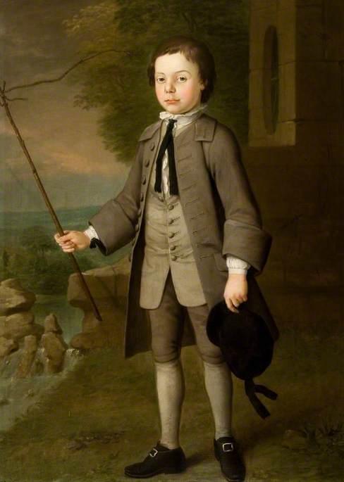Sir Frederick Evelyn (1733/1734–1812), as a Boy