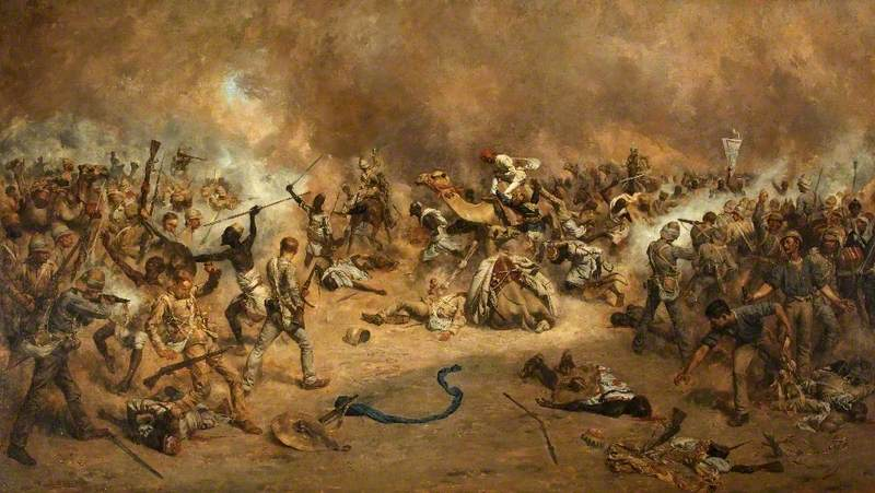 McNeill's Zareba, Tofrek, 22 March 1885