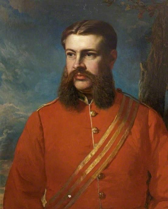 Lieutenant Colonel John Tobin Ready, 66th Regiment, Commander 2nd Battalion, the Royal Berkshire Regiment (1883–1887), Served at Maiwand