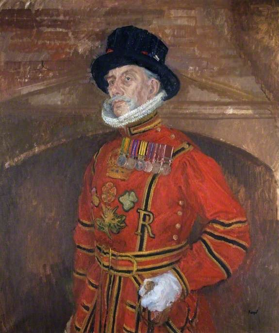 Mr D. K. Carpenter (b.1925), DERR Retired, Yeoman Warder of HM Tower of London