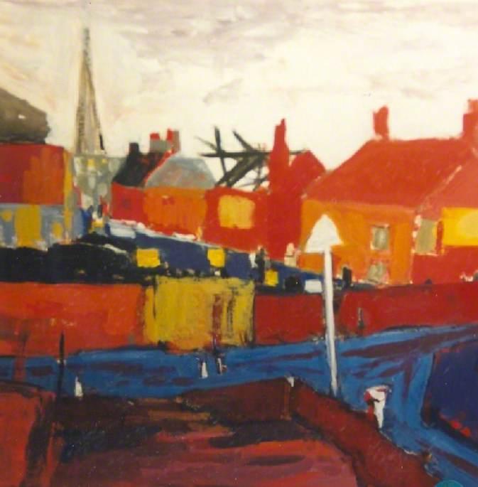 Coal Yard, Bridgwater Docks, Somerset