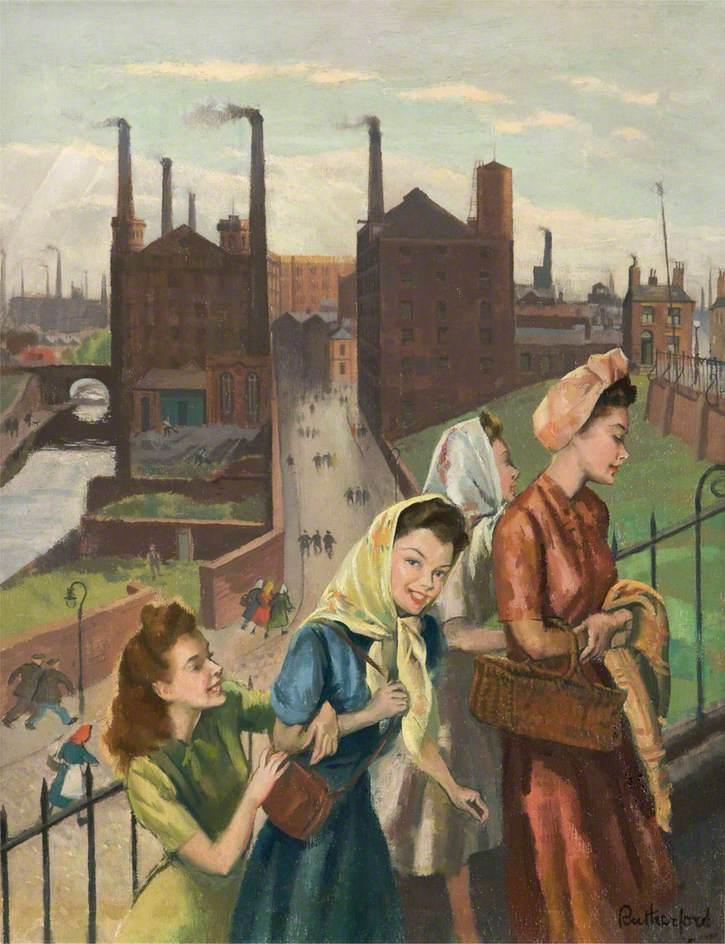 Mill Girls, Ashton, Lancashire