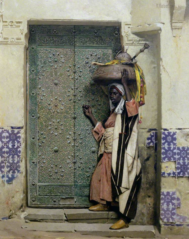 An Eastern Doorway; At the Moslem Chief's Door