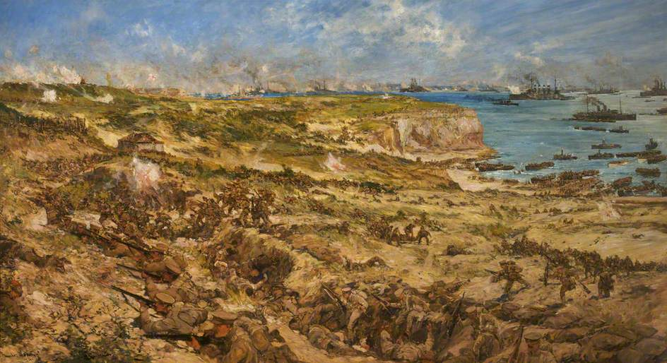 The Gallipoli Landing