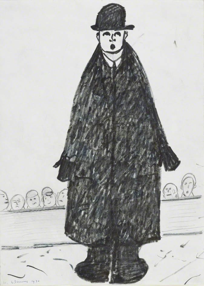 Untitled (Man in Black Bowler Hat)