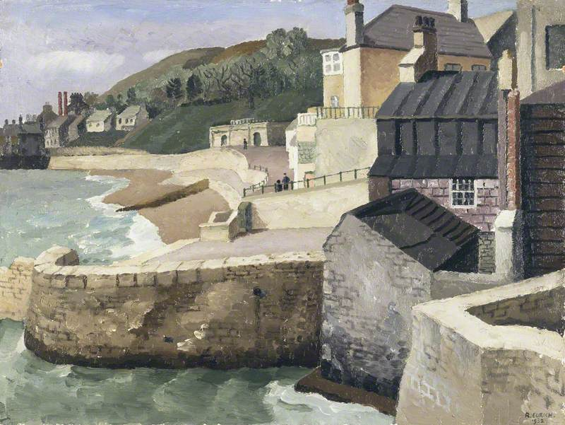From the Old Walls, Lyme Regis