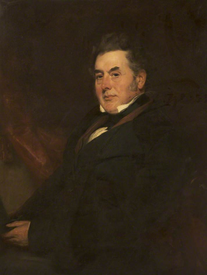 William Garnett, First President (1827–1844)