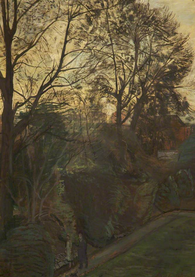 View from the Artist's Window, Putney