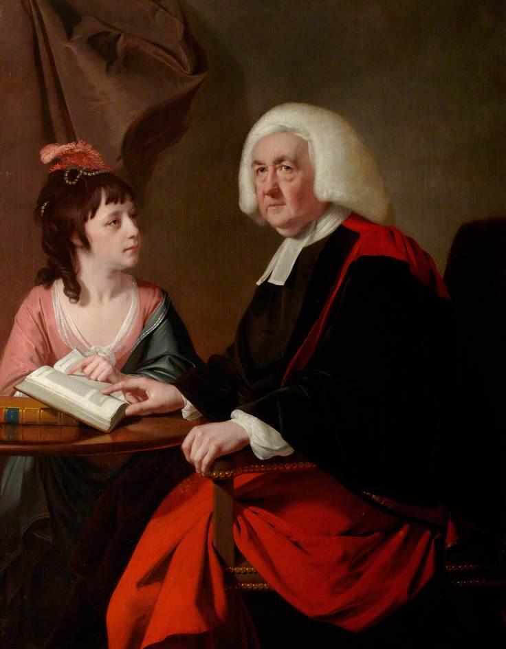 The Reverend Thomas Wilson (1703–1784) and Miss Catherine Macaulay (1731–1791)