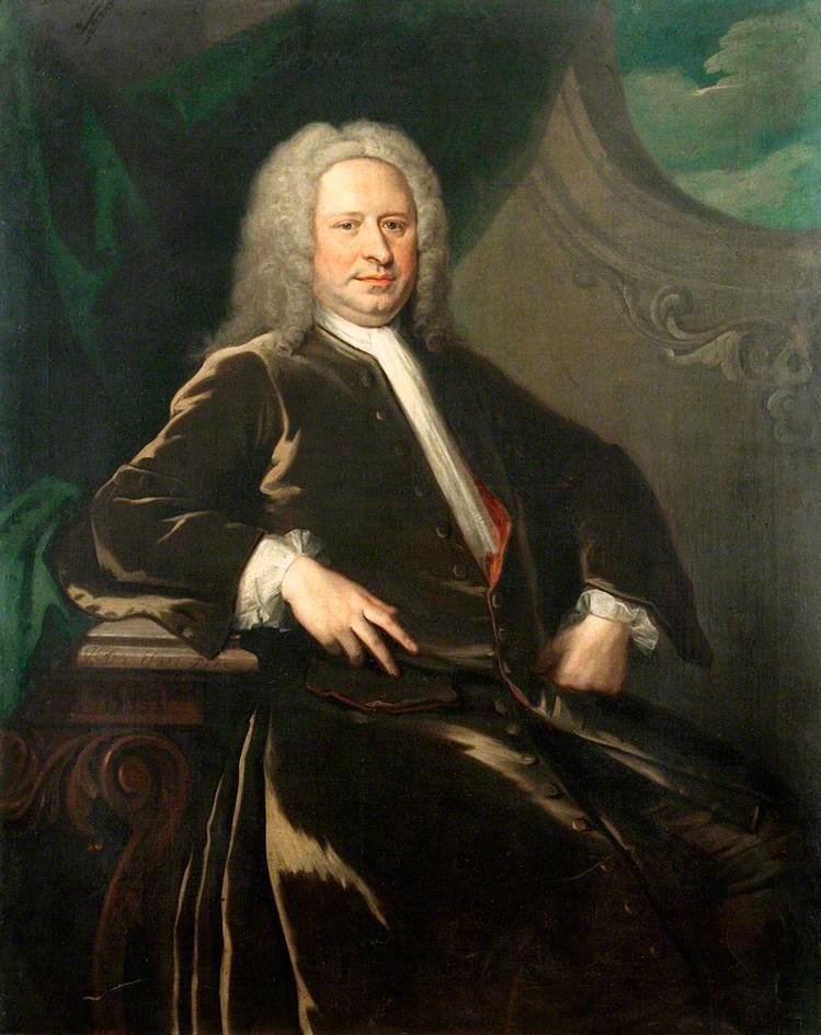 Bulstrode Peachey Knight (d.1735)