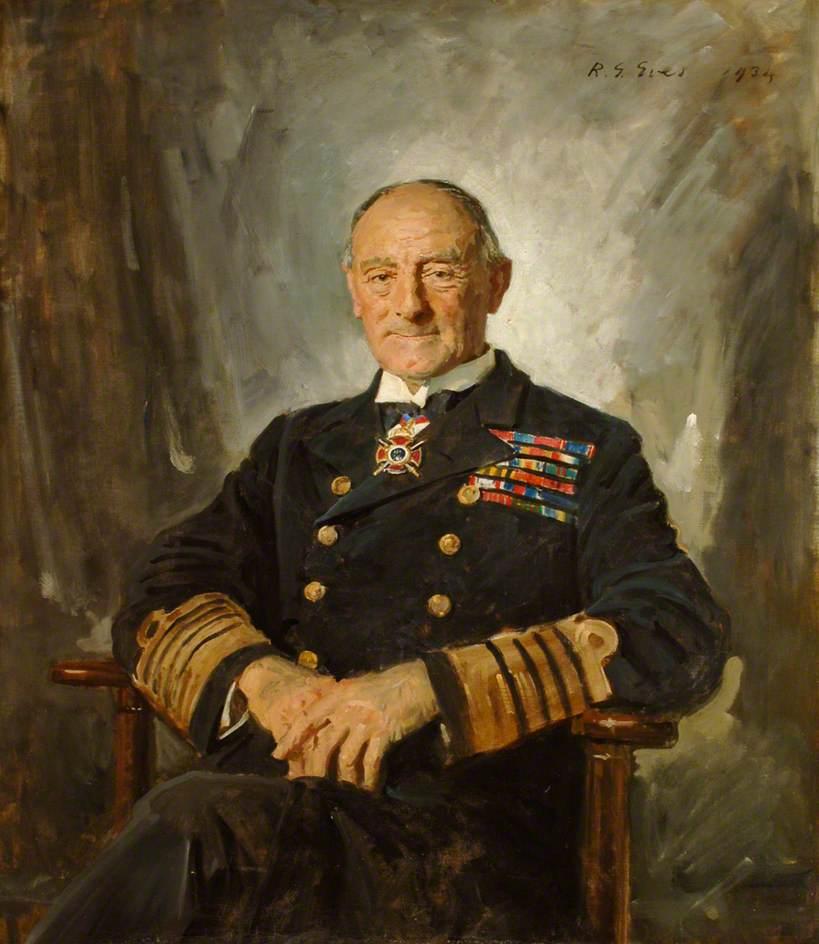 Admiral of the Fleet Earl Jellicoe, OM, GCB, GCVO (1859–1935)