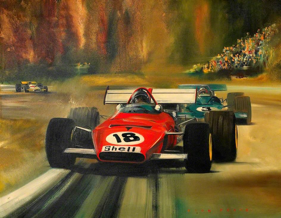 Jacky Ickx, Ferrari, Canadian Grand Prix, 1970