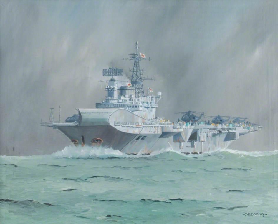 HMS 'Hermes'